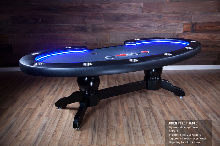 How To Build A Poker Table With Lights